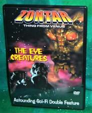 Rare Oop Zontar Thing From Venus & The Eye Creatures Double Sci-Fi Movie Dvd