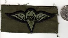 Unknown RIGGER Airborne Wings Parachute Patch Para Jump Insignia Badge