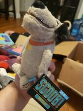 Bark Box SCOOB MUTTLEY Dog Toy NEW! XS-S Dog Crinkle, Squeaker