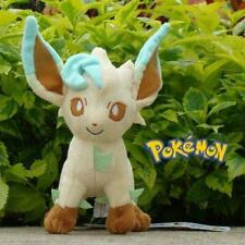 "Pokemon Plush Toy Leafeon 8"" Nintendo Game Cute Stuffed Animal Doll D517"