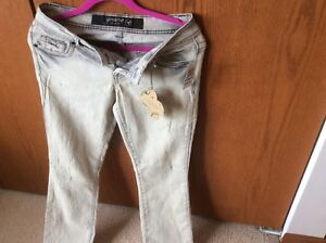 Grane woman's jeans 5, unique washes, original.price $40.00, from Macy's