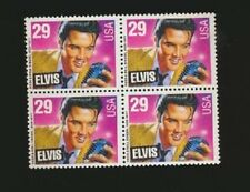 Elvis Presley USA Postage Stamp Mint Block Of Four #2721 issued Memphis TN 1993
