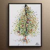 "Painting 40"" - Love Tree, original oil painting, Handmade painting on canvas"