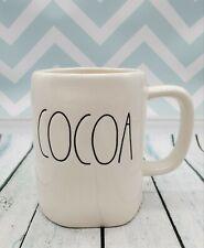 "Rae Dunn Glossy LL ""COCOA"" Coffee / Tea Mug - New"