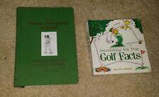 Golf Mental Game & Golf Astonishing But True Facts Books