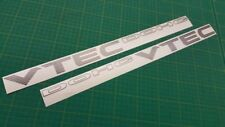 DOHC VTEC decals side replacement restoration stickers Civic CRX EG EK SiR VT