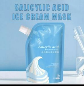 Salicylic Acid Ice Cream Moisturizing Smear Gel Clean Pore Mud Blackhead Remover