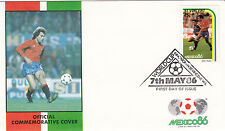 (33058) St Vincent FDC - Football World Cup 1986 - Spain v France