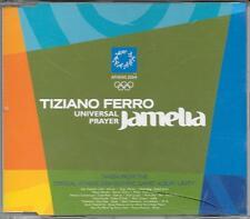 "TIZIANO FERRO  JAMELIA - RARO  CDs PROMO "" UNIVERSAL PRAYER """