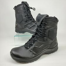Haix Black Eagle Tactical 2.0 GTX Leather GORE-TEX Boots US Mens Size 10.5 Wide