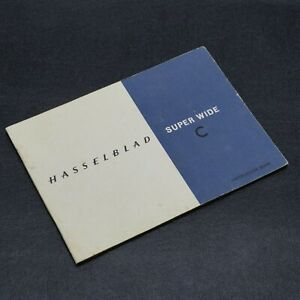 Hasselblad Super Wide C Instruction Book