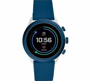 FOSSIL Sport Smartwatch - Navy Blue, 43 mm - FTW4036