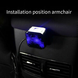 Car Ceiling Atmosphere Lamp Interior Ambient Star Light Rotation Remote Control.