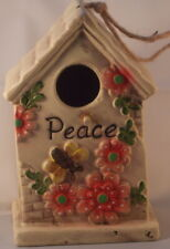 Peace Birdhouse nesting box 17.75cm suitable for small birds