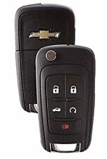 Chevrolet Flip Remote Key 2010-2017 5 Buttons Chevy LOGO Premium Quality USA A++