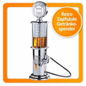 KULT: Zapfsäule Barbutler Spirituosen Spender Portionierer Retro Trinksäule