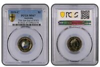2020-C 75th Anniversary of the End of WWII $2 Coin - PCGS MS67