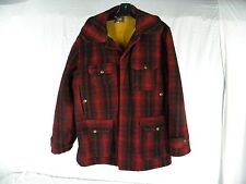 WOOLRICH VINTAGE 1940'S MACKINAW HUNTING COAT MEN SIZE 40