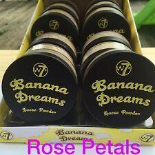 W7 Banana Dreams Loose Powder 20 g-New