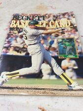 Beckett Baseball Magazine Monthly Price Guide Mark McGwire October 1987