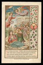 antico santino cromo-holy card S.TARCISIO M.