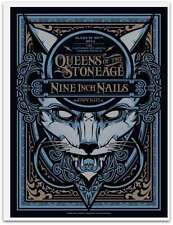 Queens Of The Stone Age Nin 3/22/2014 Poster Nz Signed & Numbered #/275