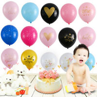 10PCS Baby Shower Balloons Birthday Party Decor It's a Boy It's a Girl Oh Baby