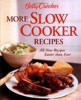 More Slow Cooker Recetas: Nuevo Receips más Fáciles Than Primero por Betty