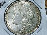 1921 D Morgan Silver Dollar..ORIGINAL TONING....GREAT LUSTER....HIGH GRADE