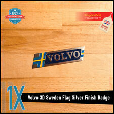 VOLVO SWEDEN FLAG R DESIGN 3D METAL BADGE EMBLEM LOGO STICKER XC60 V40 V60 XC90