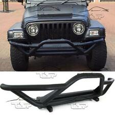 NUDGE FRONT BULL BAR SPOILER BUMPER FOR JEEP CJ5 YJ TJ WRANGLER 76-05