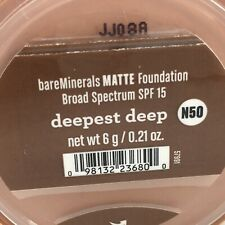 bareMinerals Matte Foundation Broad Spectrum SPF 15 - 0.21 oz - Pick Your Shade