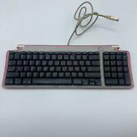 Apple iMac G3 Strawberry Keyboard M2452 Tested Works