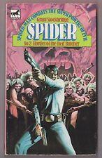 The Spider #2 Hordes of the Red Butcher Grant Stockbridge Mews 00092 1976