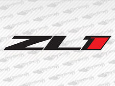 "2 X Camaro ""ZL1"" Decals Stickers Emblem Logo Vinyl Chevy Racing"