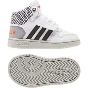 Adidas Kids Shoes Fashion School Sports Sneakers HOOPS MID 2 Infants Boys EE8549