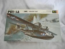 VINTAGE 1969 PRE BARCODE REVELL  PBY-5A BLACK CAT COMPLETE 1/72