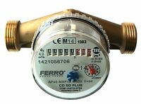 Water meter flow - cold water for house and garden 4m3/h