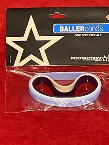 Footaction Baller Wrist Bands Id Bracelets Tar Heel Blue White Blue 3 Pack New!