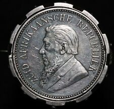 More details for 1897 | south africa 2½ shillings 'coin brooch' | coins | silver | km coins