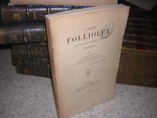 1904.l'abbé Follioley / Auguste Salles.Bon ex