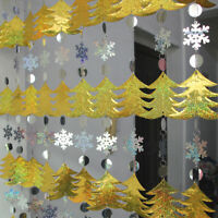 Sequins Drop Ornaments Party Supplies Christmas Curtains Home Decorations