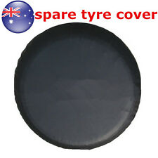 "15""  Black Spare Tire Cover Wheel Tyre Covers for all Diameter 70~75cm"