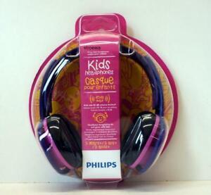 PHILIPS SHK2000PK/00, On-ear Kopfhörer, Pink/lila