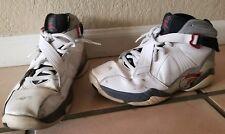 Nike Air Jordan 8.0 VIII Retro (467807-105) White Basketball Shoes Men Size 10