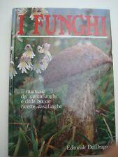 FUNGHI-IL MANUALE DEL CERCAFUNGHI E DELLE BUONE RICETTE CASALINGHE-ILLUSTRATO