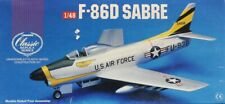 Lindberg 1:48 F-86D Sabre Plastic Aircraft Model Kit #70503X