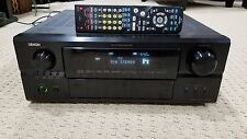 Denon AVR 2807 7.1 Channel 140 Watt Receiver Bundle with Remote
