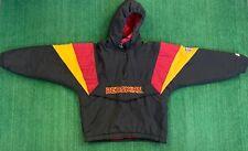 90's Vintage Washinton Redskins Starter Bomber Jacket Size M Black Red Puffer