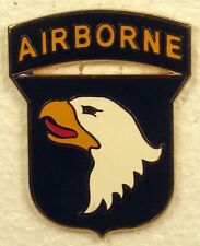 Us Army 101st Airborne Division Combat Service Identification Badge Csib